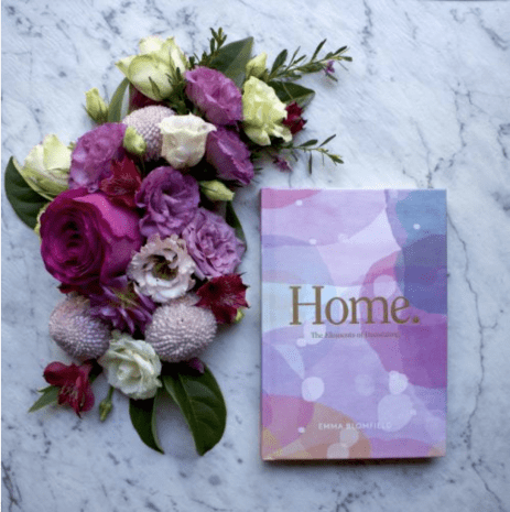 A copy of the book Home